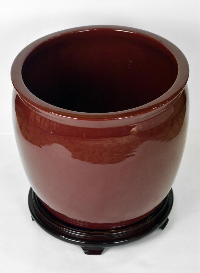 Pair of Pottery Jardinieres - 2