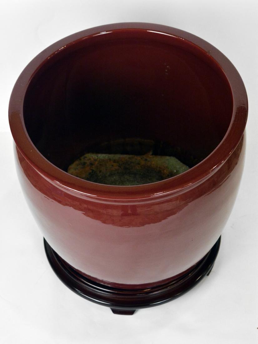 Pair of Pottery Jardinieres - 3
