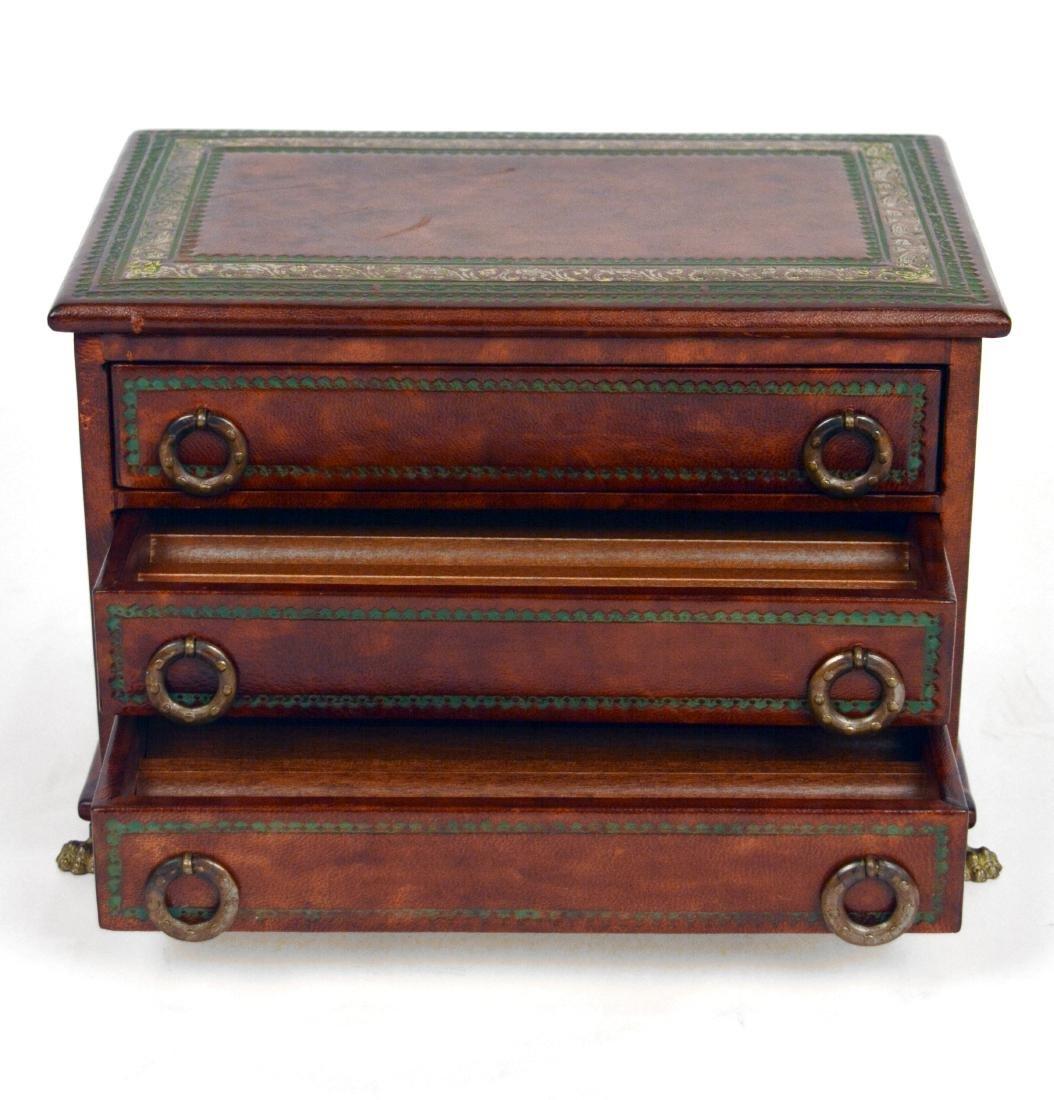 Burled Wood Jewelry Box - 2