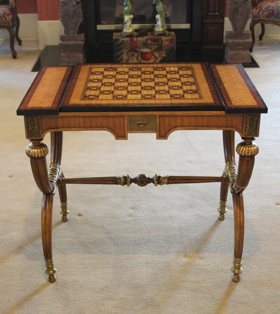 Rosewood Decorator Table in the Charles X Style