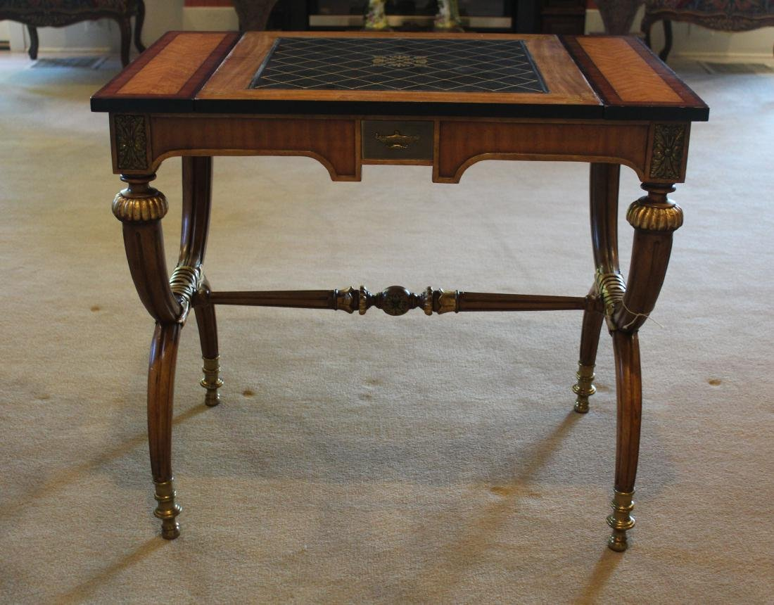Rosewood Decorator Table in the Charles X Style - 2