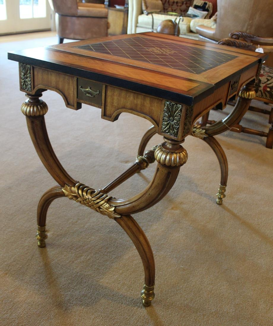 Rosewood Decorator Table in the Charles X Style - 5