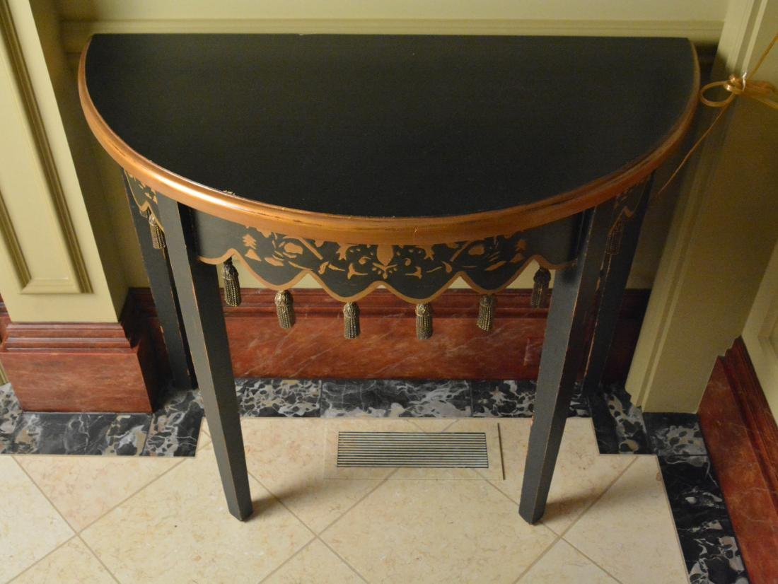 Oriental Style Lacquered Table