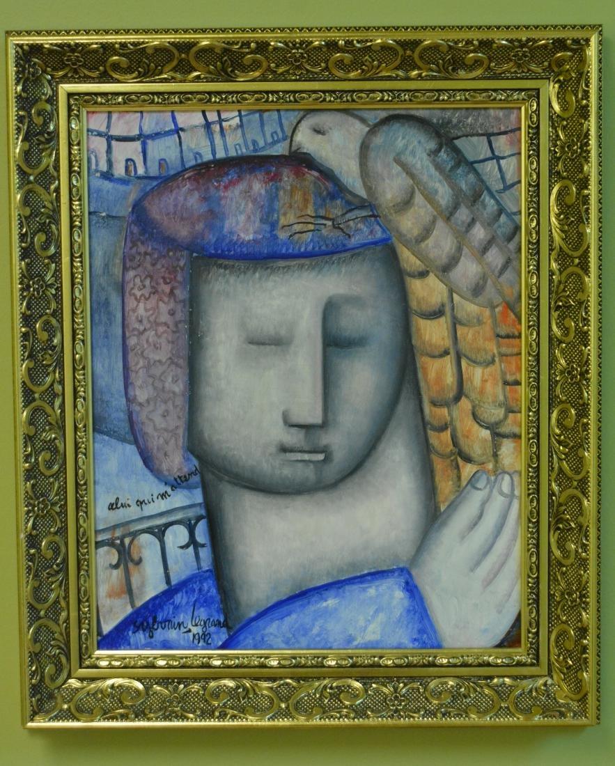 Sylvain Legrand, Oil. Portrait