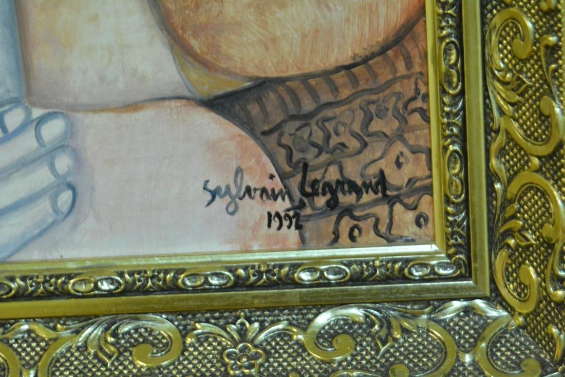 Sylvain Legrand, Oil. Portrait - 2