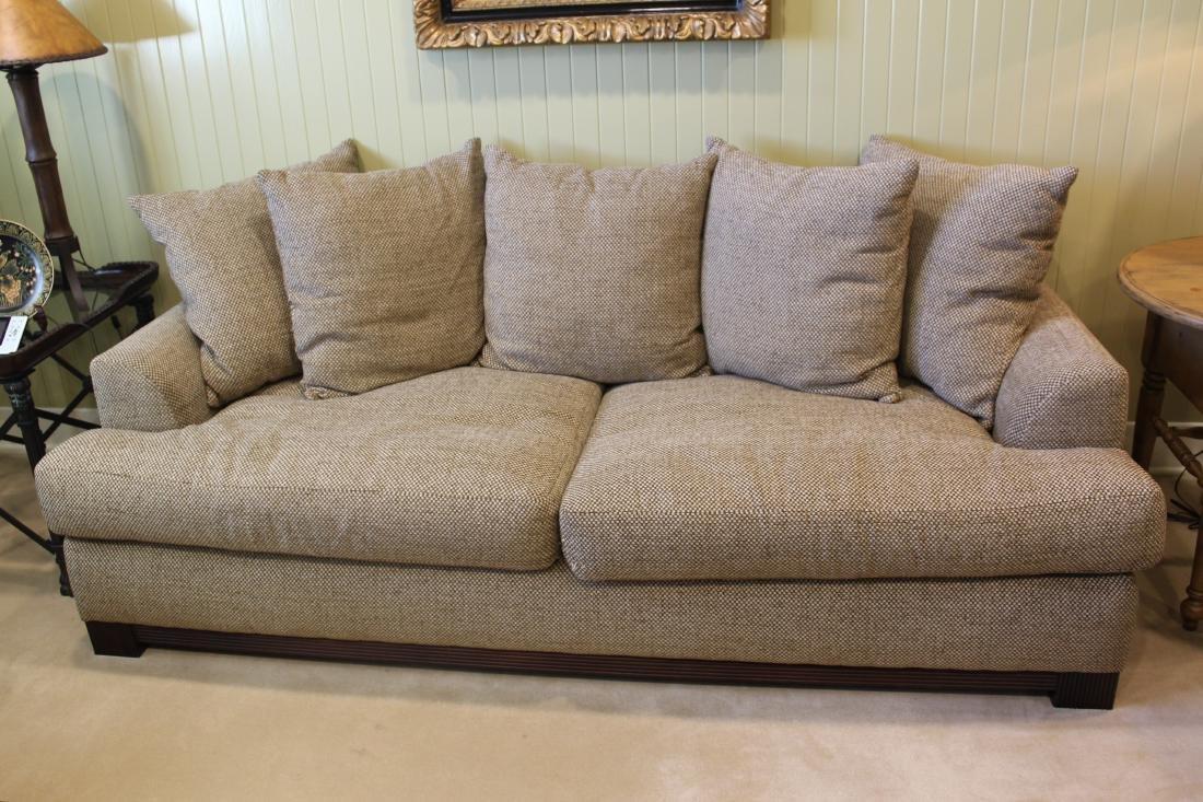 Decorator Beige Linen Sofa