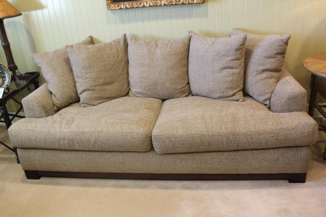 Decorator Beige Linen Sofa - 2