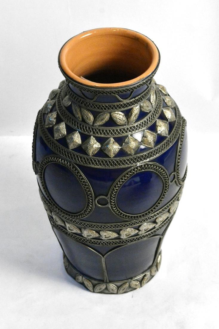 Cobalt Blue Moroccan Vases (4) - 2