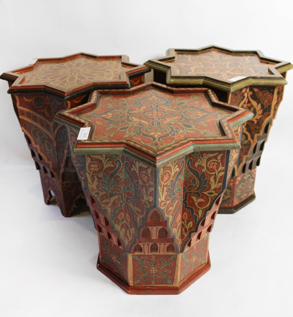 Three Moroccan Occasional Tables