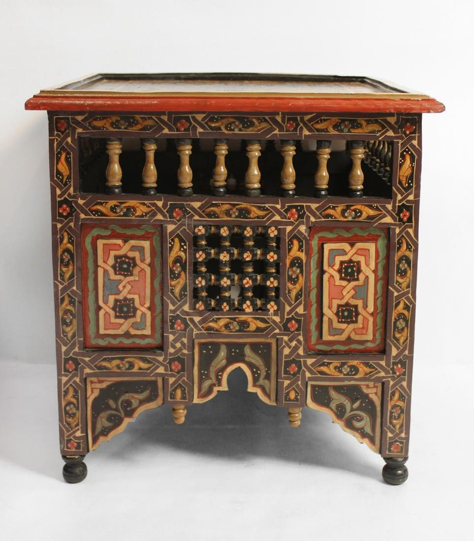 Pair Moorish End Tables - 2