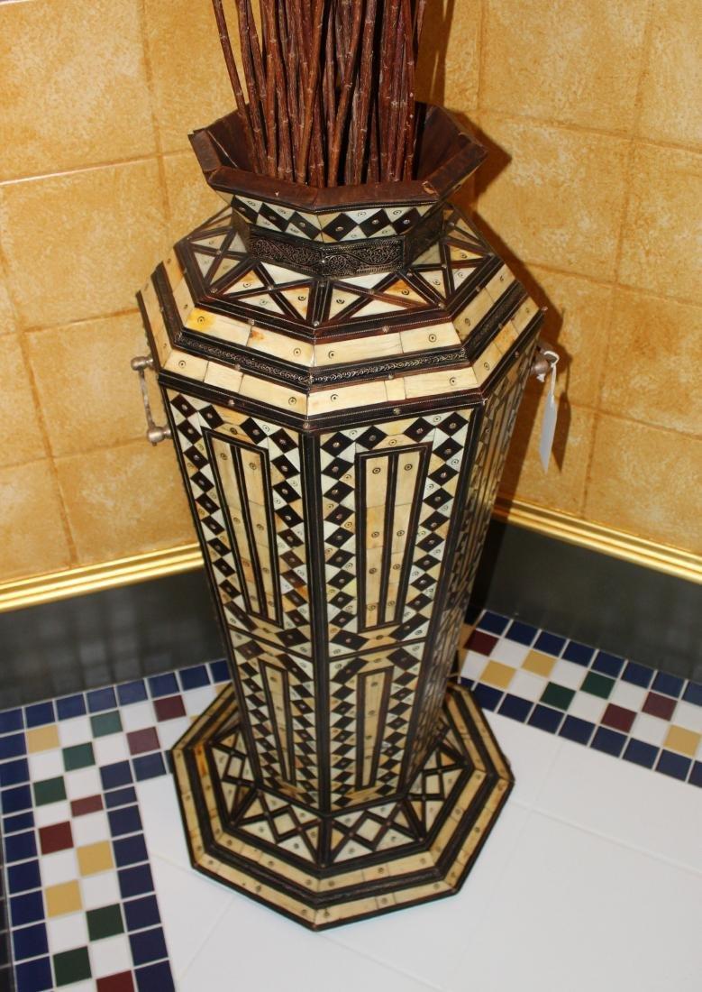 Monumental Geometric Pattern Vase