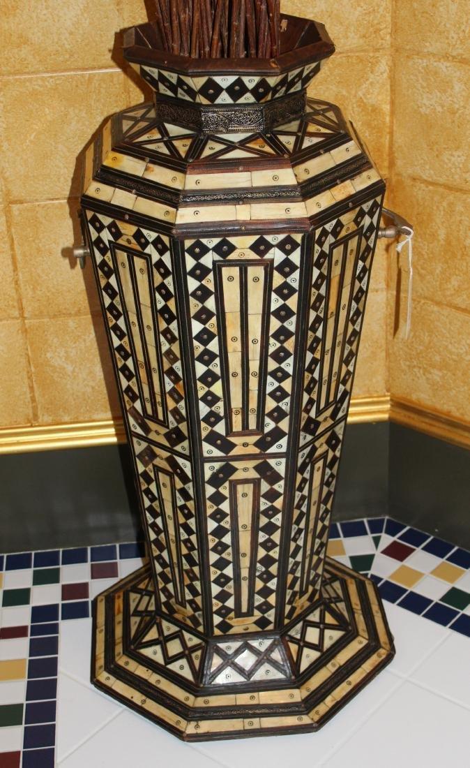 Monumental Geometric Pattern Vase - 2