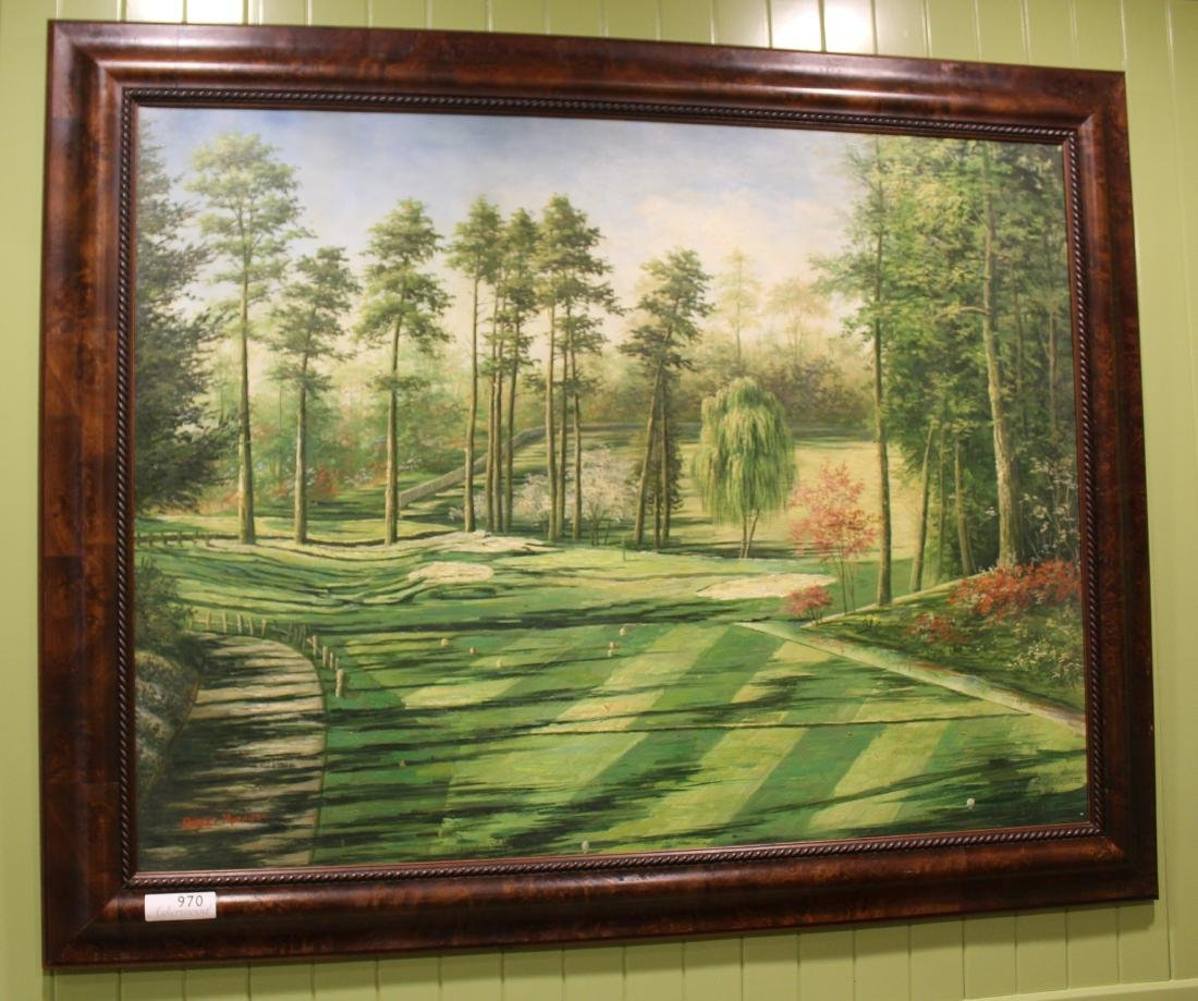 Golf Course Oil Paintings (3)