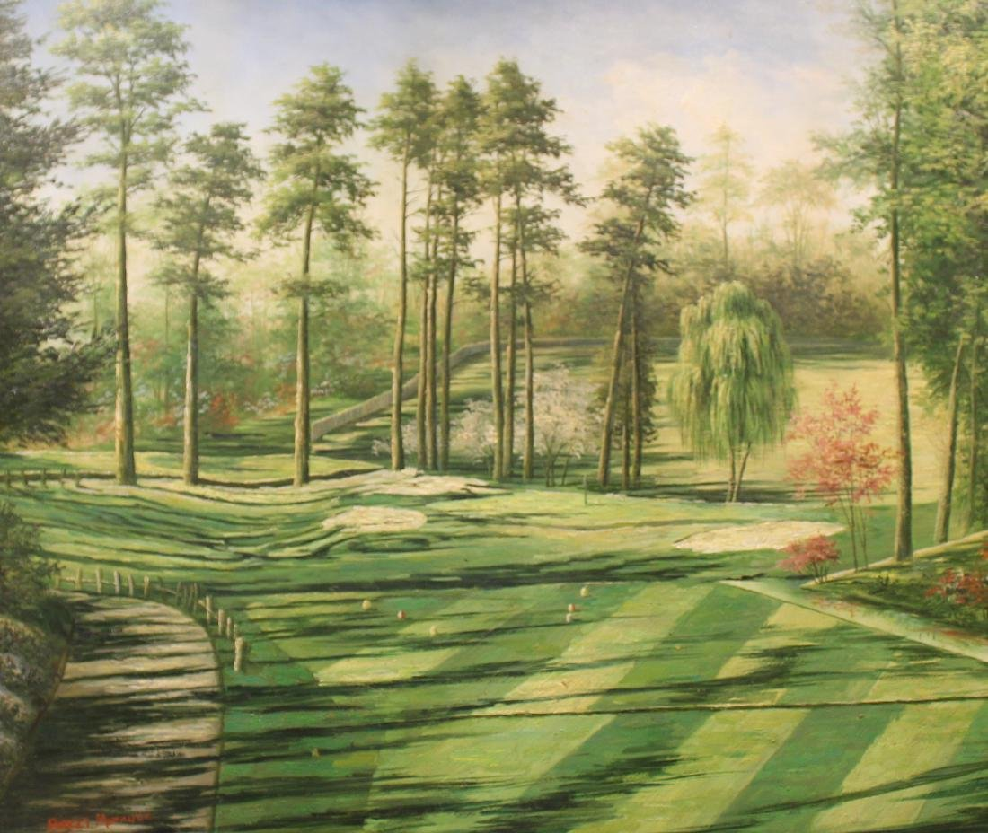 Golf Course Oil Paintings (3) - 2