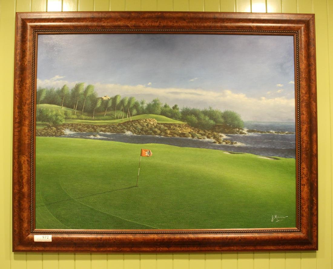 Golf Course Oil Paintings (3) - 4