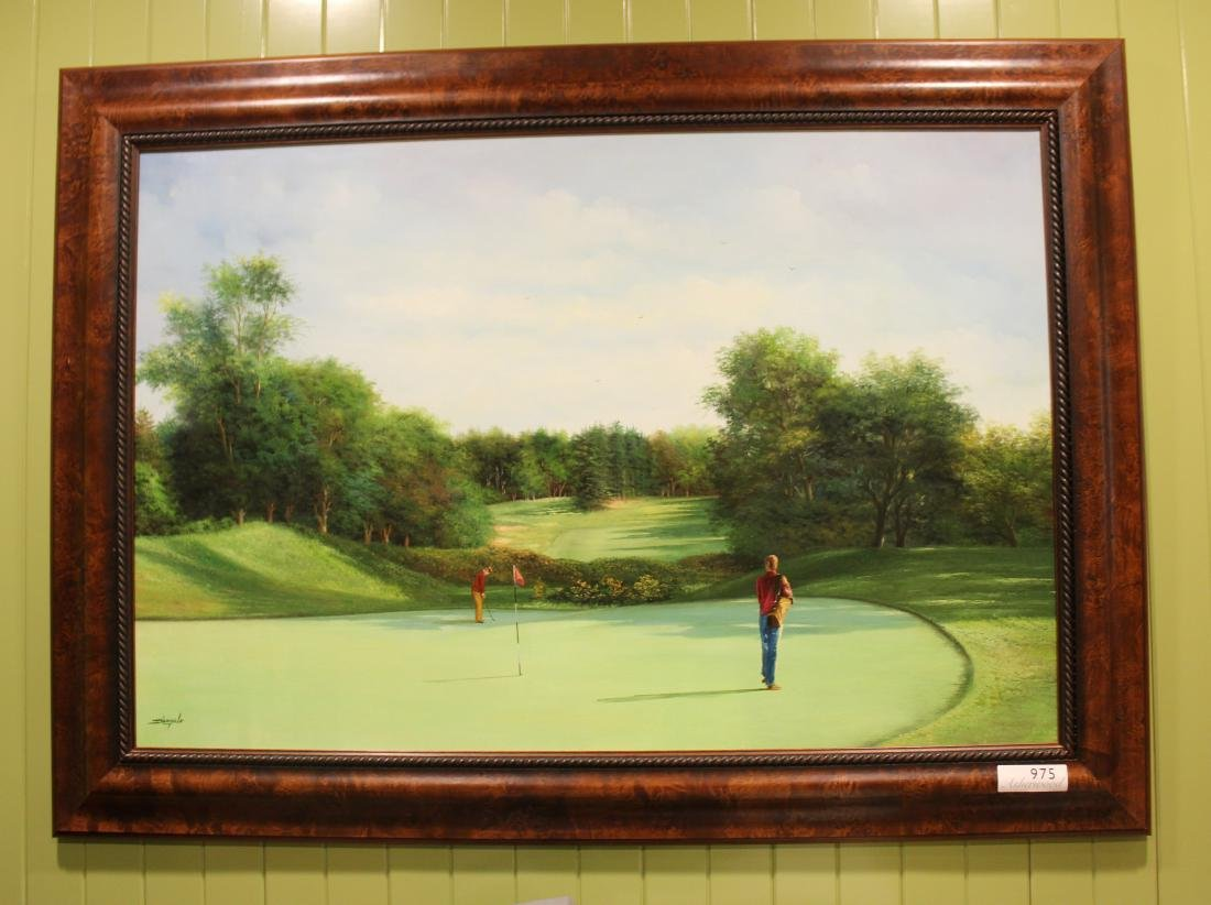 Golf Course Oil Paintings (3) - 7