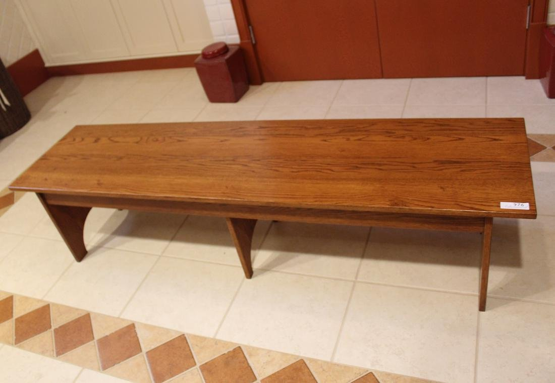 Primitive Wooden Bench