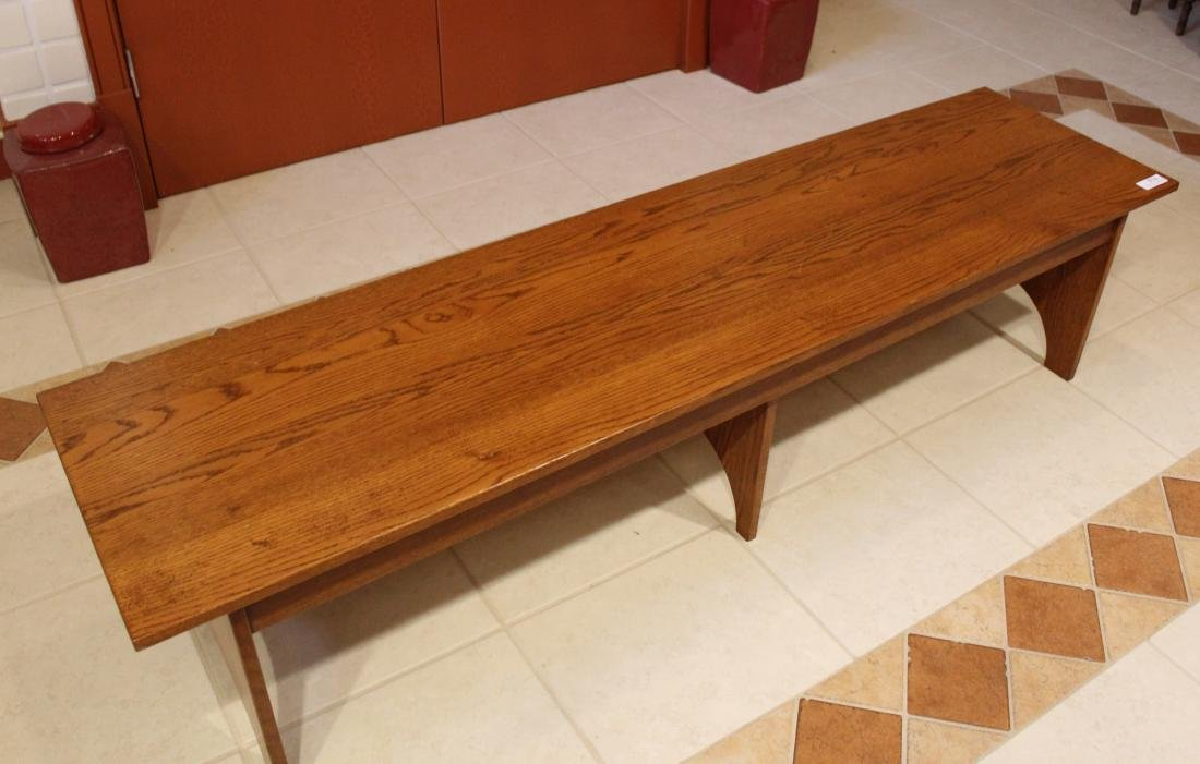 Primitive Wooden Bench - 2
