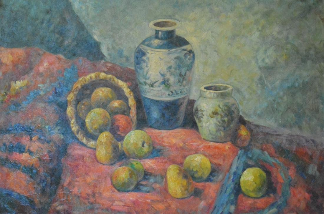 Oil Painting. Unsigned. Impressionist Still Life - 2