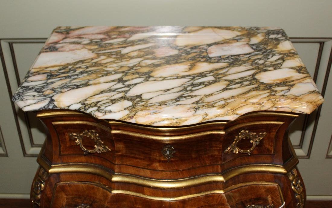 French Influence Bombe Chest - 3