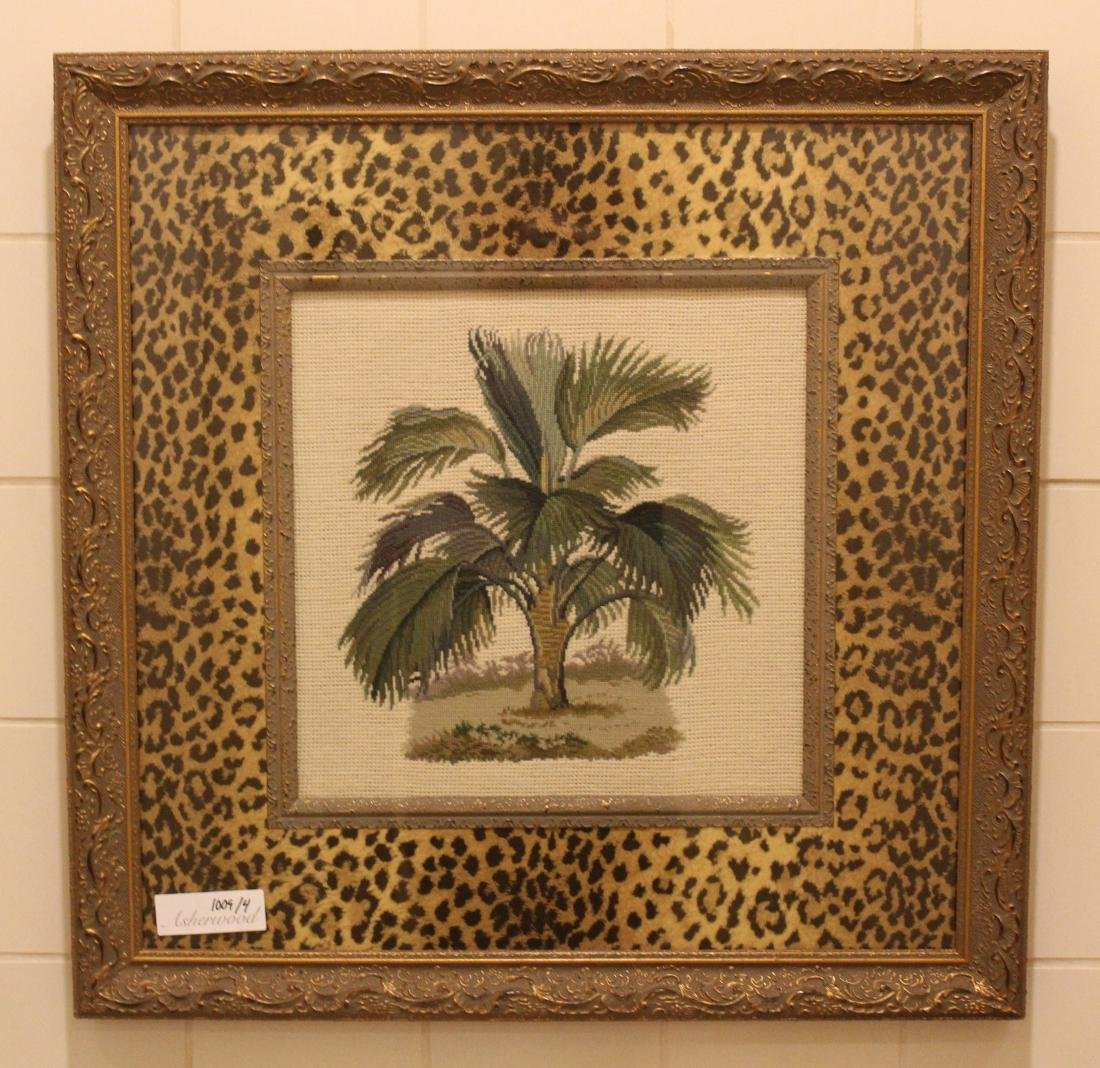 Emboidered Palm Wall Hangings (4) - 2