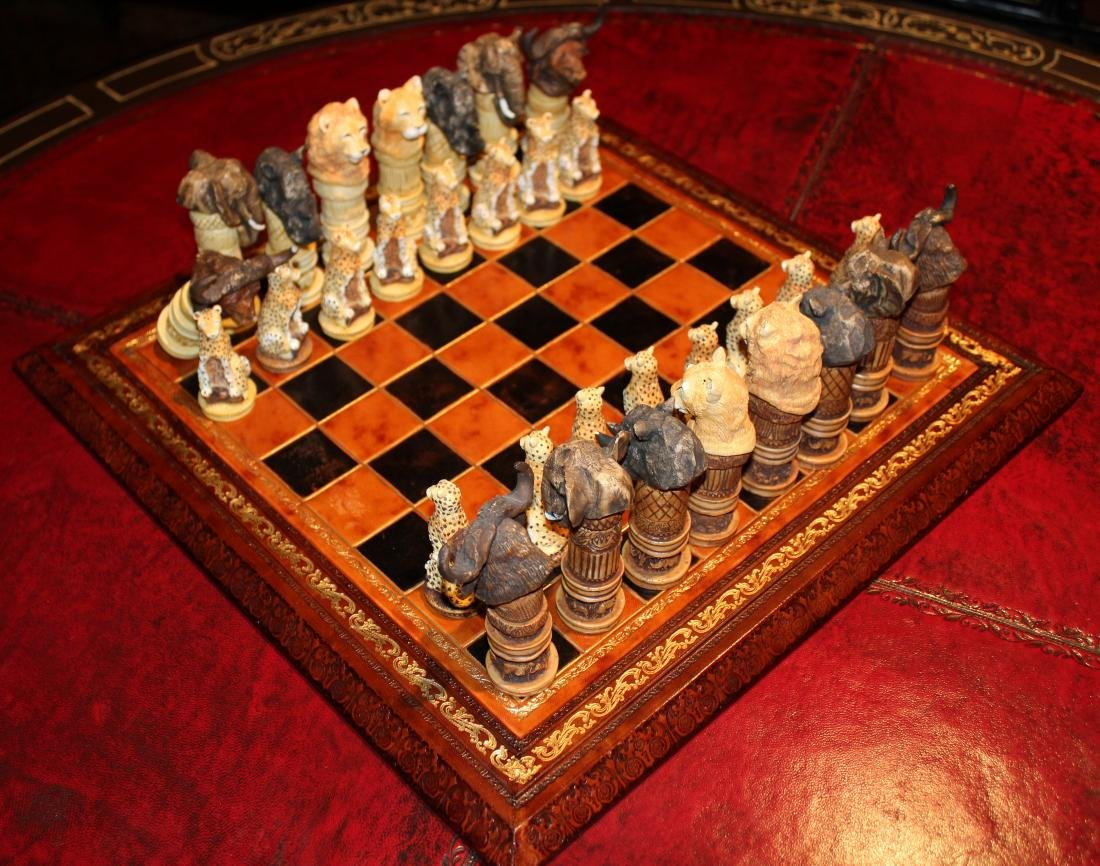 Out of Africa Chess Set