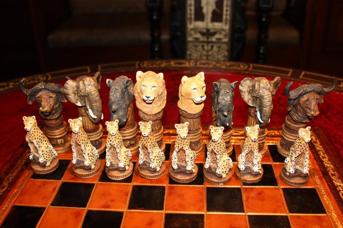 Out of Africa Chess Set - 2
