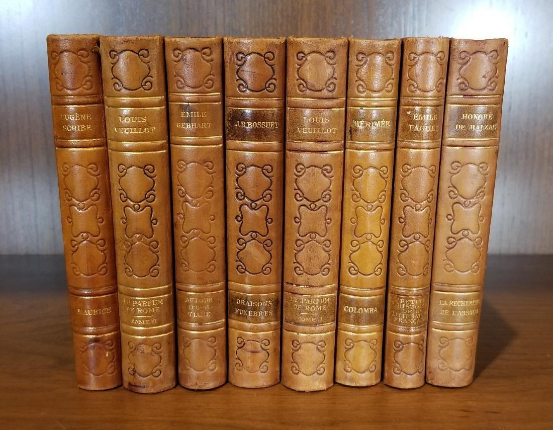 Decorative Leather Bound Books (8)