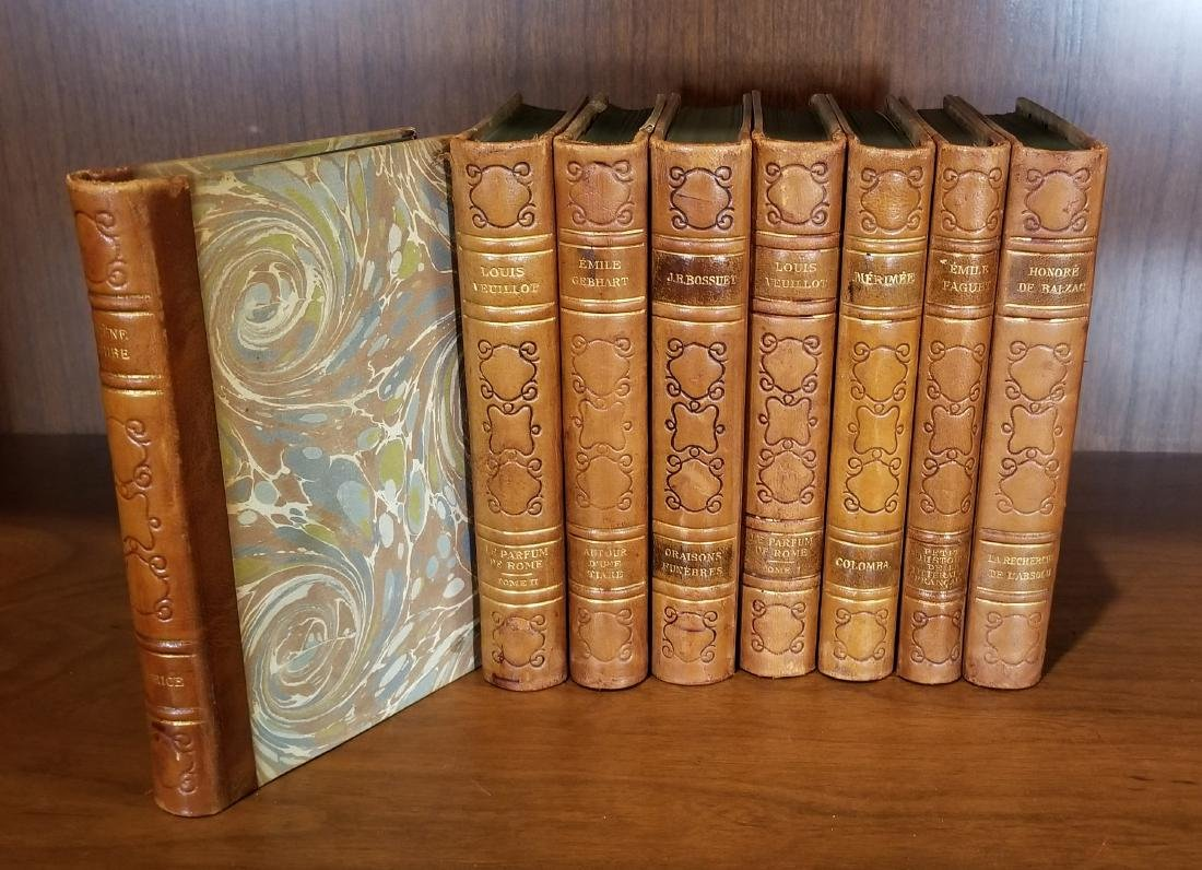 Decorative Leather Bound Books (8) - 2