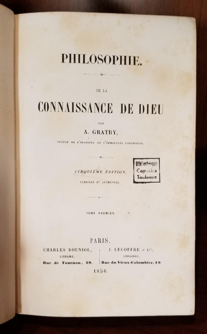 Decorative French Leather Bound Books (7) - 5