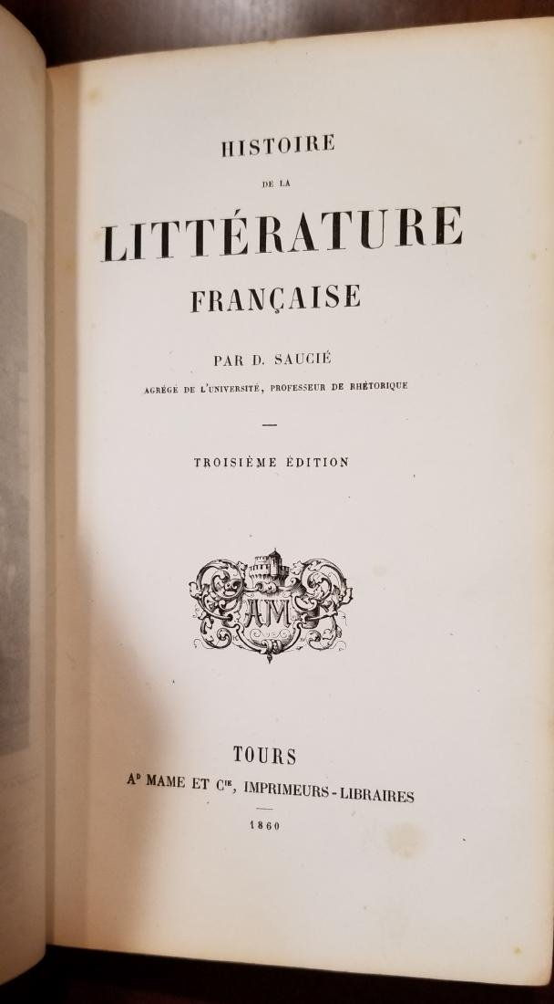 Decorative French Leather Bound Books (7) - 6