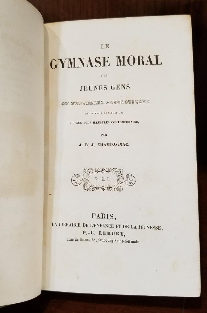 Decorative French Leather Bound Books (8) - 8
