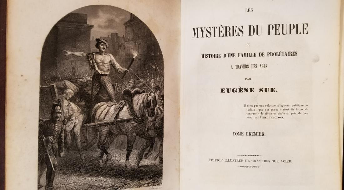 Eugene Sue, Mysteres du Peuple, Lausanne, 1850 (8) - 3