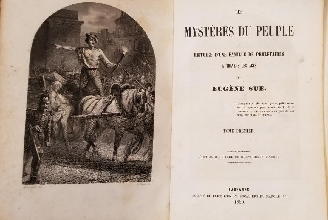 Eugene Sue, Mysteres du Peuple, Lausanne, 1850 (8) - 4