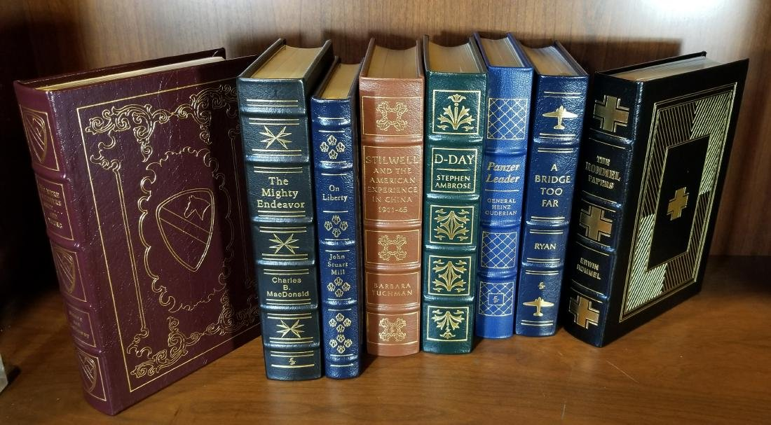 Easton Press Decorative Leather Bound Books (8) - 2