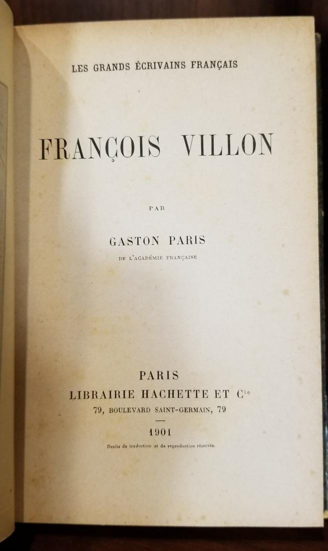 Decorative French Leather Bound Books (12) - 5
