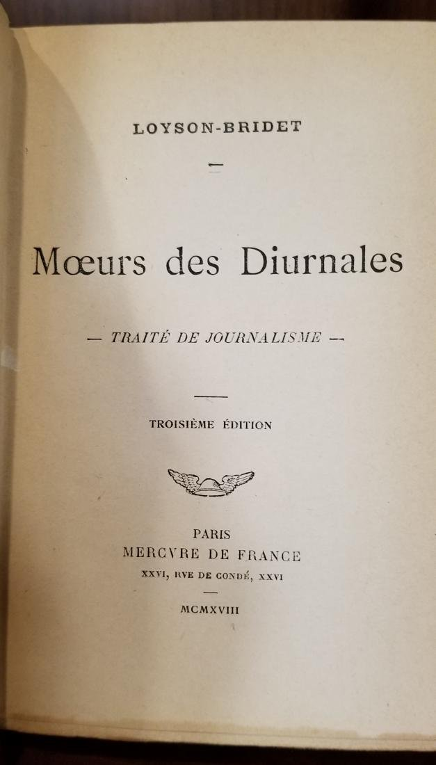 Decorative French Leather Bound Books (12) - 8