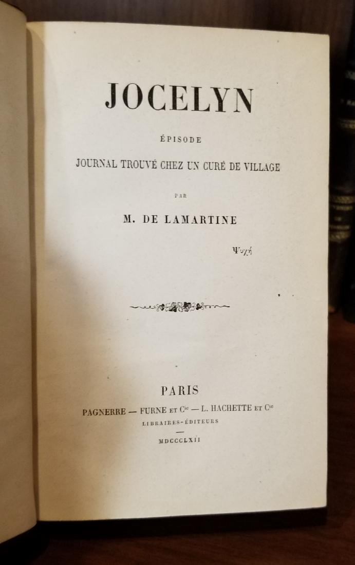 Decorative French Leather Bound Books (11) - 4