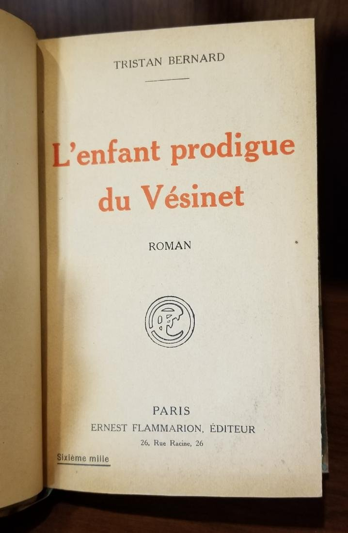 Decorative French Leather Bound Books (11) - 8