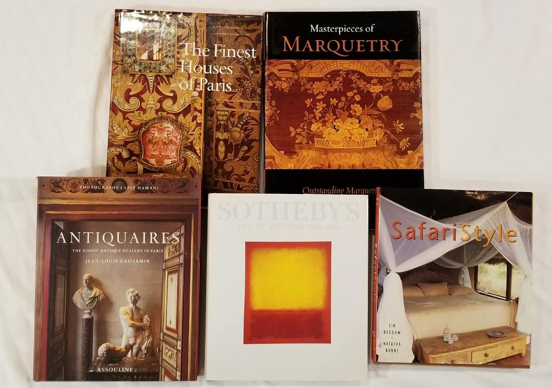 Large Format Coffee Table Books (5)