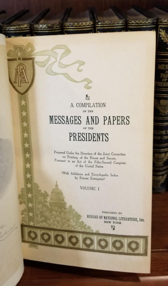 Messages and Papers of the Presidents (16) - 2