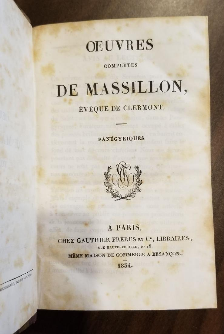 Decorative French Leather Bound Books (9) - 3