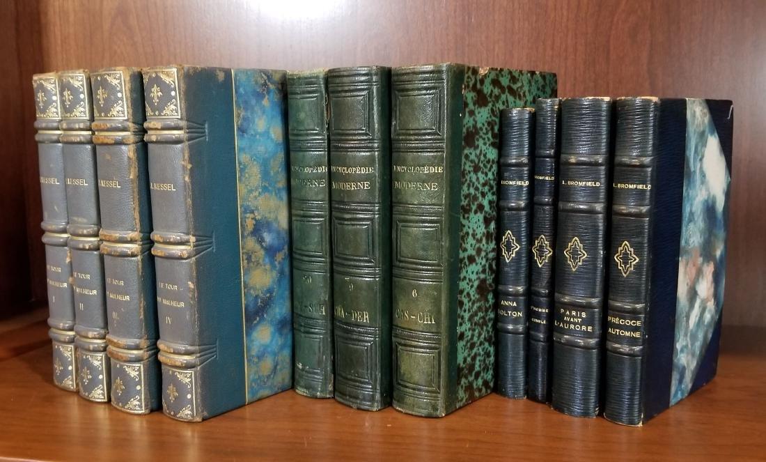 Decorative Leather Bound Books (11) - 2