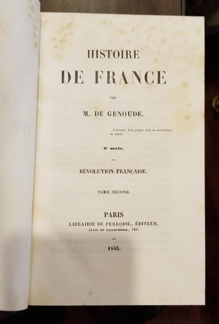 Decorative French Leather Bound Books (9) - 8