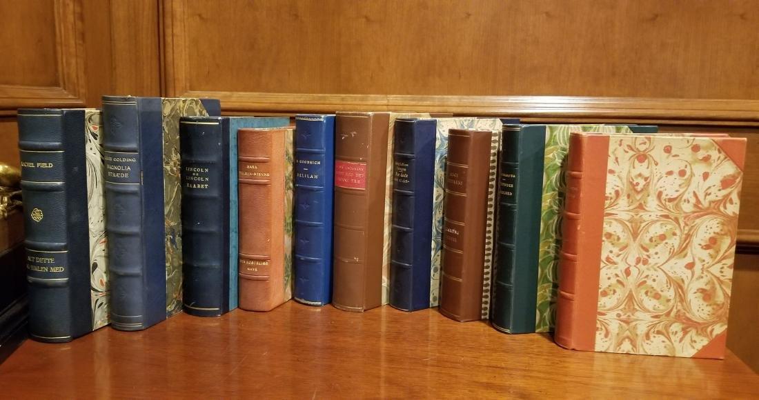 Decorative Leather Bound Books (10) - 2