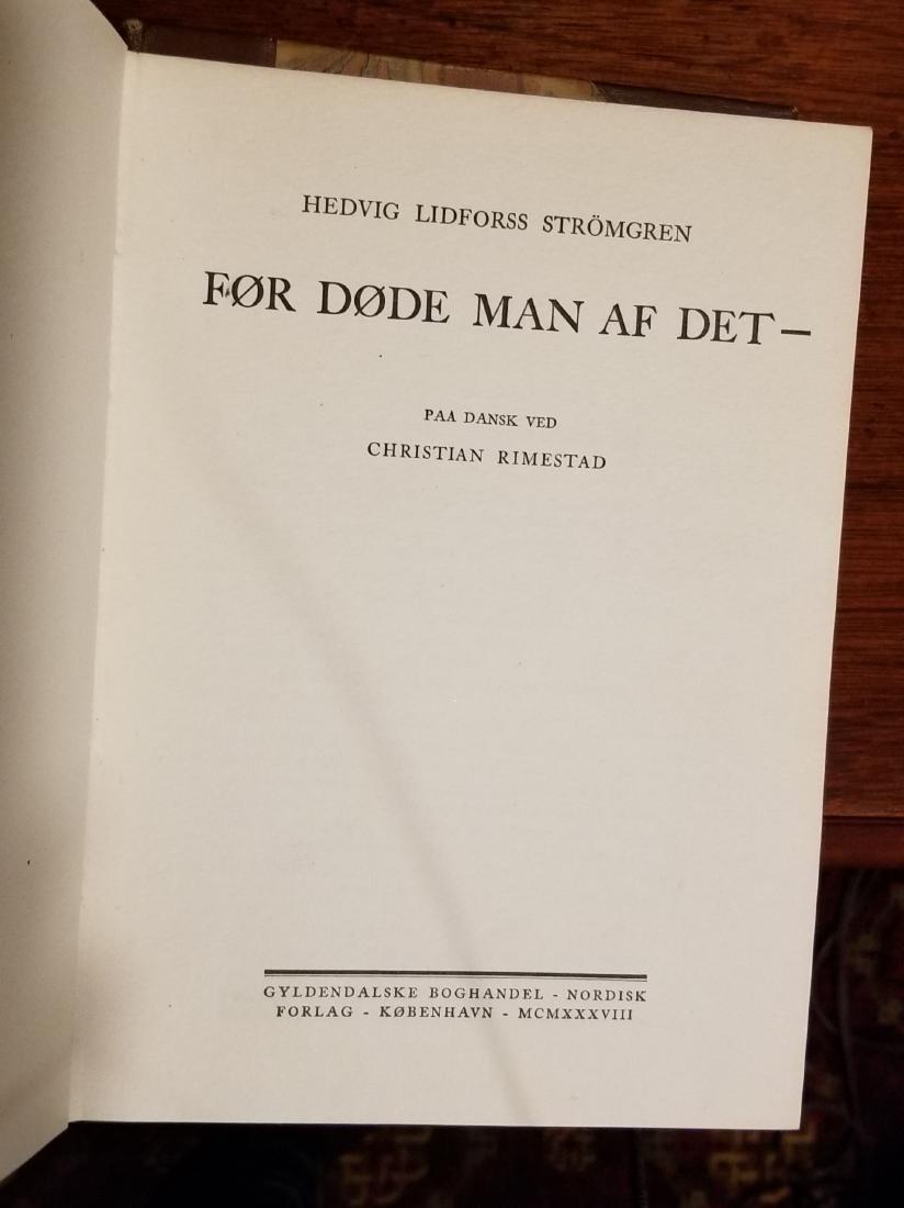 Decorative Leather Bound Books (10) - 9