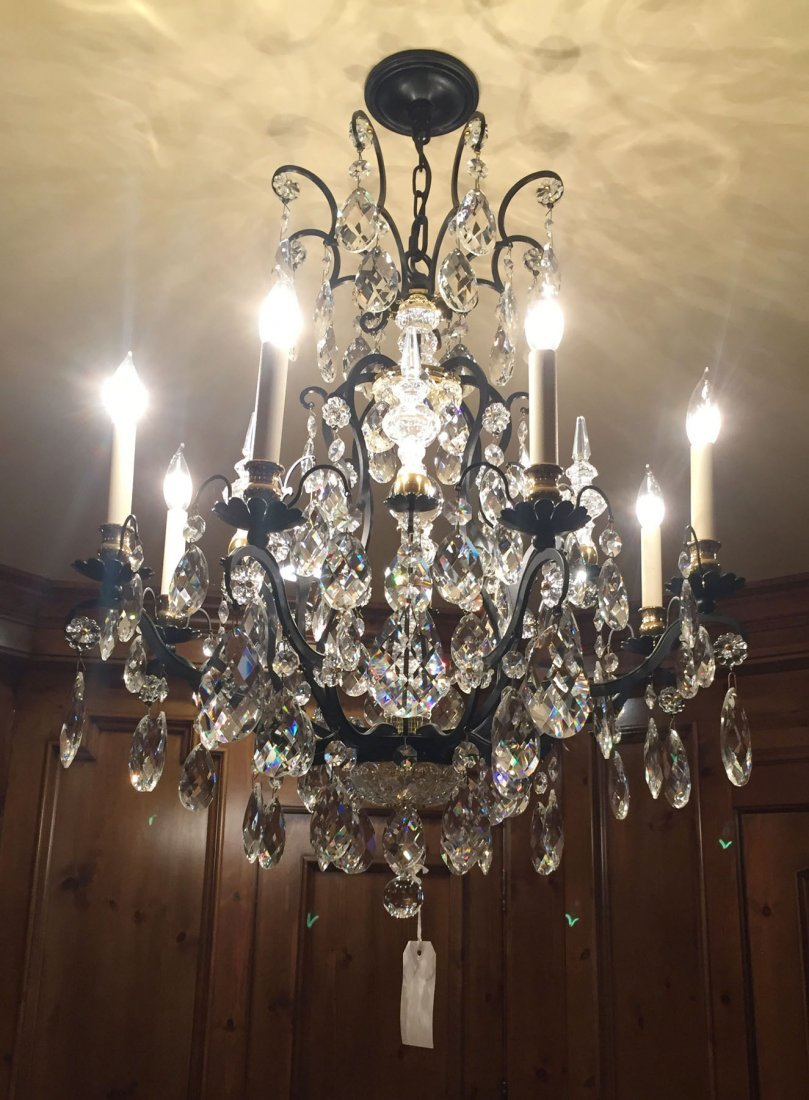Crystal Hanging Chandelier - 2