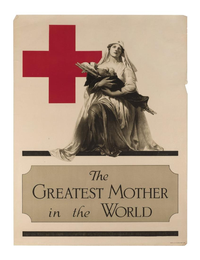 """""""The Greatest Mother in the World"""" World War I Poster"""