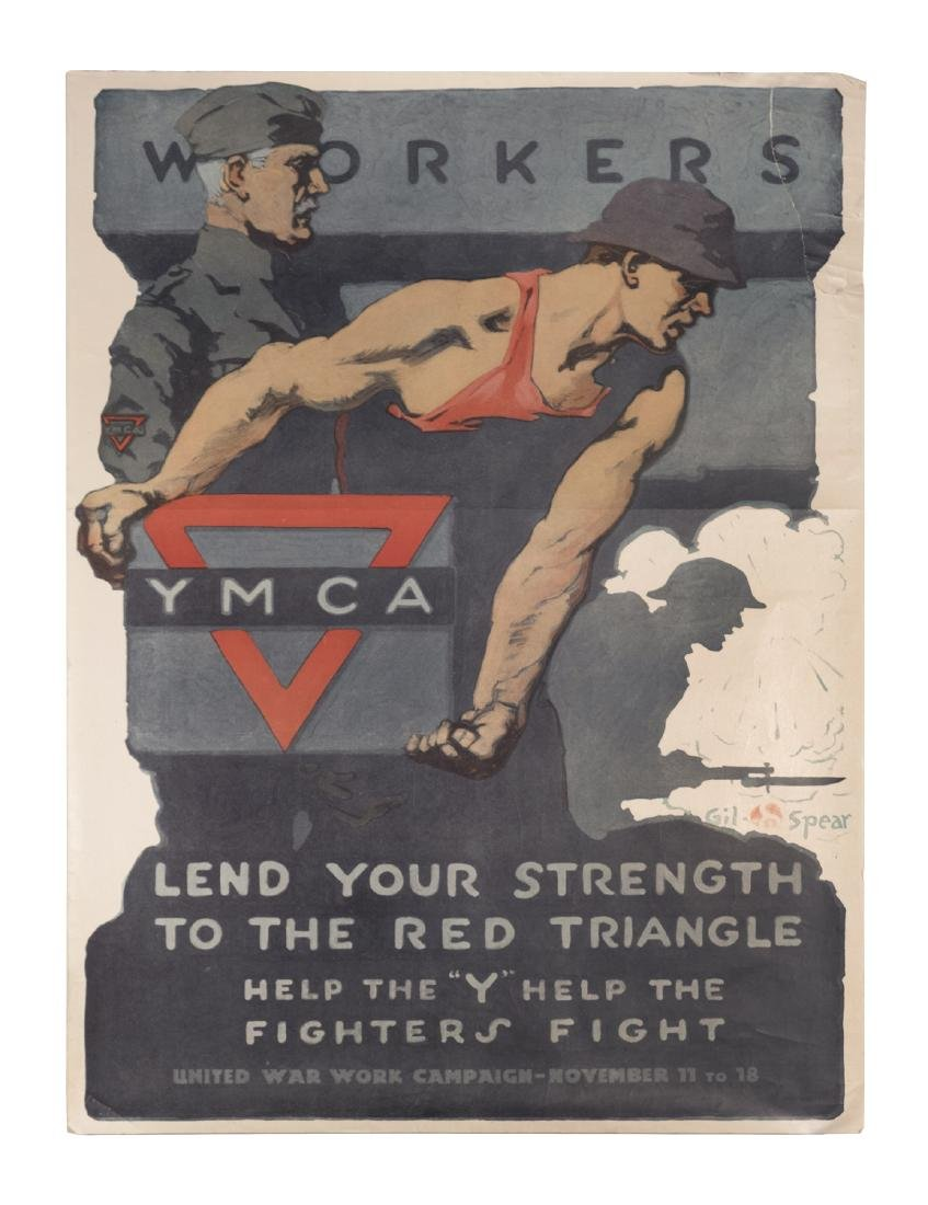 Workers / YMCA World War I Poster