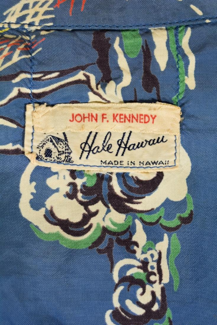 John F. Kennedy Hawaiian Shirt - 7